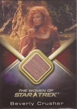 """Women of Star Trek - WCC19 Gates McFadden """"Beverly Crusher"""" Costume Card"""