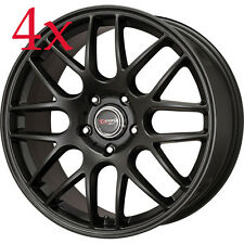 Drag Wheels DR37 20X8.5 5/120 +20 offset Black Full Rims For BMW X5 X3 X1