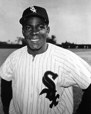1950s Chicago White Sox MINNIE MINOSO Glossy 8x10 Photo Baseball Print Poster