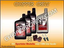 Harley Öl Service 20W50 RevTech Sportster ab '04 Wechsel Kit GP6,87€/L#89