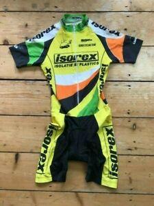 ISOCREX CYCLING SHORTS SIZE 0 SUIT VEST BODYSUIT Padded Seat BibShorts & Shirt