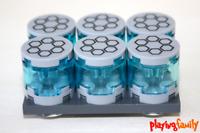 LEGO STAR WARS, 6 große Coaxium Behälter der Separatisten, aus LEGO®-Teilen, MOC
