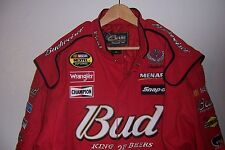 NEW CHASE AUTHENTIC NASCAR DALE EARNHARDT JR #8 BUDWEISER RED SPORTS JACKET NWT