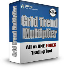 The Grid Trend Multiplier Forex trading EA /  Robot. Discounted off listed price