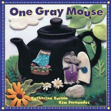 Kids fun book gr k-1:One Gray Mouse-rhyming+counting book=bees,trees,pigs in wig