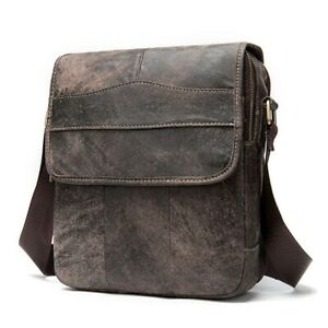 Genuine Leather Crossbody Bags Cowhide Quality Business Travel Men Bags