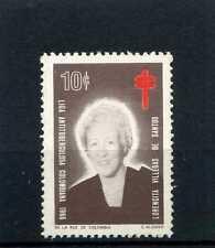 LIGA ANTI-TUBERCULOSA ,-Lorencita V. de Santos    COLOMBIA.    1966  MNH