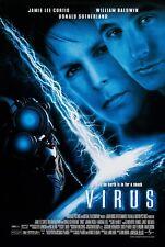 VIRUS (1999) ORIGINAL MOVIE POSTER  -  ROLLED