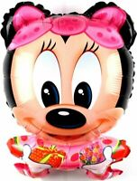Minnie Mouse Helium Foil Balloons Baby Girls Disney Mickey Birthday Balloon