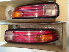 *NEW PAIR LEXUS SC300 SC400 TAIL LIGHT LENS OEM COMPLETE 97-2000 w/ SOCKET PLUGS