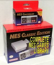 Genuine Hacked NES Classic Edition + Controller + All Games + Tecmo 2019 MODDED