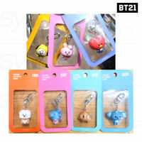 BTS BT21 Official Authentic Goods Figure Keyring Baby Ver + Tracking Number