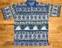 Vintage 1990s Bugle Boy Short Sleeve Polo Shirt Sz L Retro