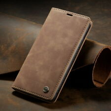 Card Slot Case for iPhone 116.5'' 2019 Xs Max 8 7 6 Magnetic Matte Leather Cover
