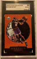 1998-99 Upper Deck Ovation #29 Kobe Bryant Card Graded SGC 8 Mint Lakers
