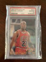 Michael Jordan 1992 Stadium Club MC 🔥🔥🔥PSA 10 GEM MT #210
