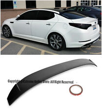 For 14-15 Kia Optima ABS Plastic Primered Black Rear Roof Wing Lip Spoiler