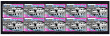 THE TREMELOES BRITISH ROCK MUSIC STRIP OF 10 MINT VIGNETTE STAMPS 3
