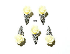5pc Nail Art Charms 3D Nail Rhinestones Decoration Jewelry DIY Bling - D72