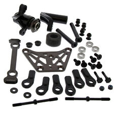 Kyosho 4WD 1/8 Inferno MP10: Servo Saver, Upper Plate, Steering Rods
