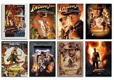 Indiana Jones all episode Movie Postcard Set 8pcs