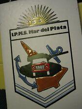 I.P.M.S. INTERNATIONAL PLASTIC MODELERS SOCIETY Ceramic Plaque, Mar del Plata
