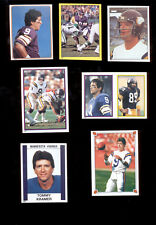 1981-1988 Topps Panini TOMMY KRAMER Minnesota Vikings sticker Lot