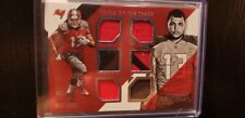 MIKE EVANS 2014  ABSOLUTE Rc TOOLS OF THE TRADE 6 x JERSEY PATCH #'D 129/149 !