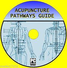 Agopuntura percorsi, punti, & ANATOMIA esercitazioni video risorsa PC-DVD NUOVO