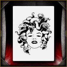 Medusa Airbrush Stencil Template Paint Airsick