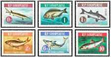 Timbres Poissons Albanie 671/6 ** lot 28999 - cote : 15 €