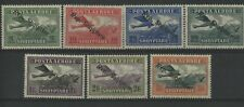 More details for albania 1927 air overprint set , mint hinged