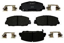 Disc Brake Pad Set-Ceramic Disc Brake Pad Front ACDelco Pro Brakes 17D1625CH