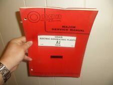 (Drawer 32) Onan AJ Series Electric Generating Plants Major Service Manual