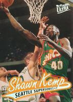 Shawn Kemp 1996-97 Fleer Ultra #103 Seattle Supersonics card