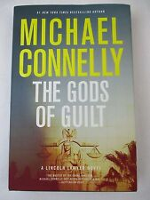 The Gods of Guilt Book Lincoln Lawyer Michael Connelly Hardcover Signed First