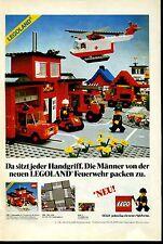 Lego-- Da sitzt jeder Handgriff-Legoland Feuerwehr --Werbung von 1981--