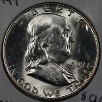 1949 Franklin Half Dollar Mint State #145724