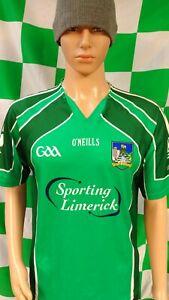 Limerick GAA Official O'Neills Hurling Jersey Shirt (Adult Small)