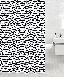 Hope and Anchor Shower Curtain