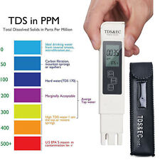 Digital TDS-3 Water Quality Tester Purity Meter TEMP PPM Test Filter Pen Stick