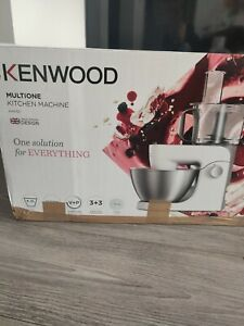 KENWOOD Multione KHH321SI Stand Mixer - Silver.