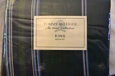 """Vintage Tommy Hilfiger """"The Crest Collection"""" Hunter House King Bedskirt"""