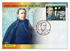 Italy 2018: Father Angelo Secchi-Postcard Official Poste Italiane