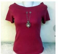 WOMEN'S PLAIN BLOUSE NC  -  MAROON