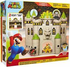 "Nintendo Super Mario Bowser Castle 2.5"" Action Figure Music Sounds Kid Gift Toys"
