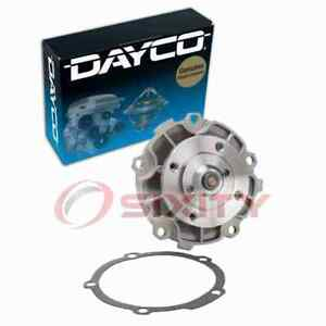 Dayco Engine Water Pump for 1990-2001 Chevrolet Lumina 3.1L 3.4L V6 Coolant ey