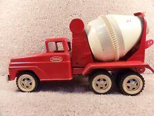 RARE 1960's Tonka Toys Mound Minn Ford Cement Mixer Truck Pressed Steel Metal