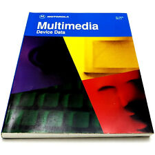 Motorola Multimedia Device Data Vintage 1995 Manual Book #Dl158/D Decoder Ic's +