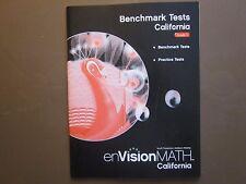 enVision Math Grade 5 California Benchmark Tests book Scott Foresman 0328344400